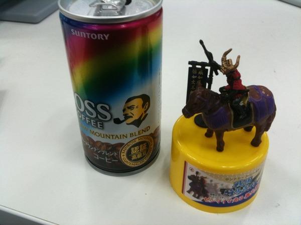 BOSSと戦国武将と馬